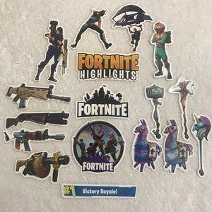 40 Pc Fortnite sticker